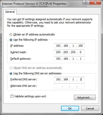 TCP/IP Settings